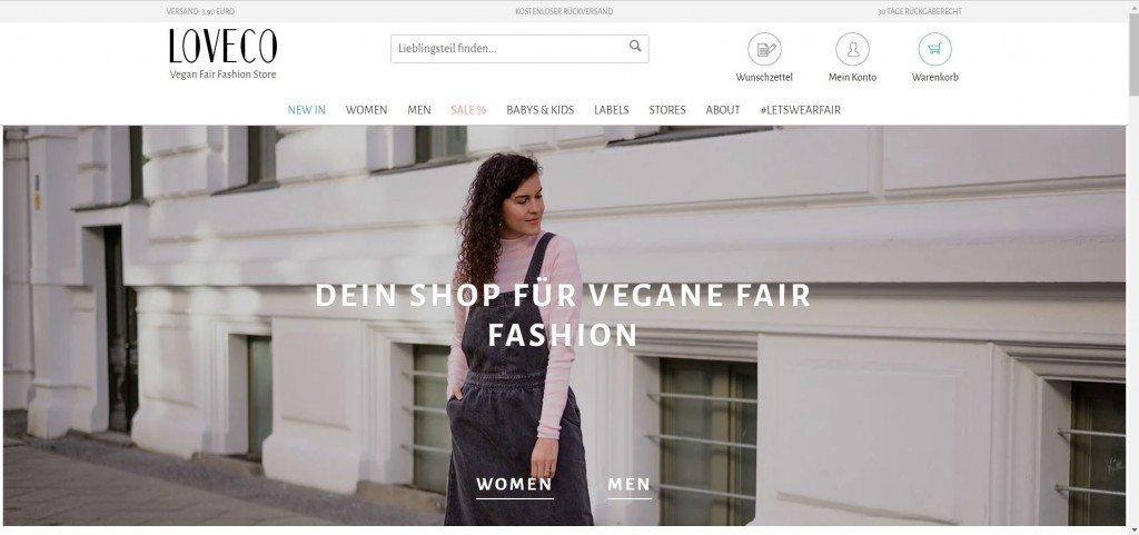 Der Online Shop von LOVECO ist eine tolle Alternative zu Zalando