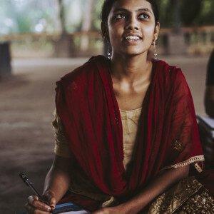 Portraitfoto einer Näherin von Jyoti