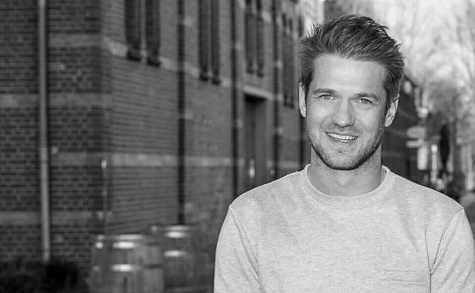 Koen, der Gründer vom Label GOBI Amsterdam