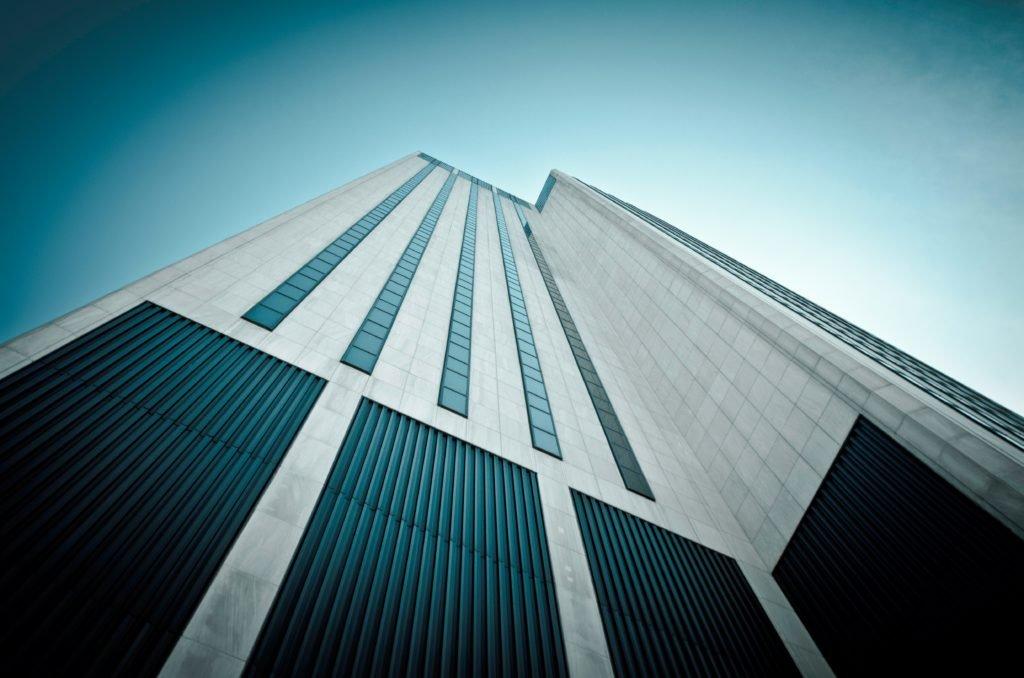 Wolkenkratzer großer Konzerne