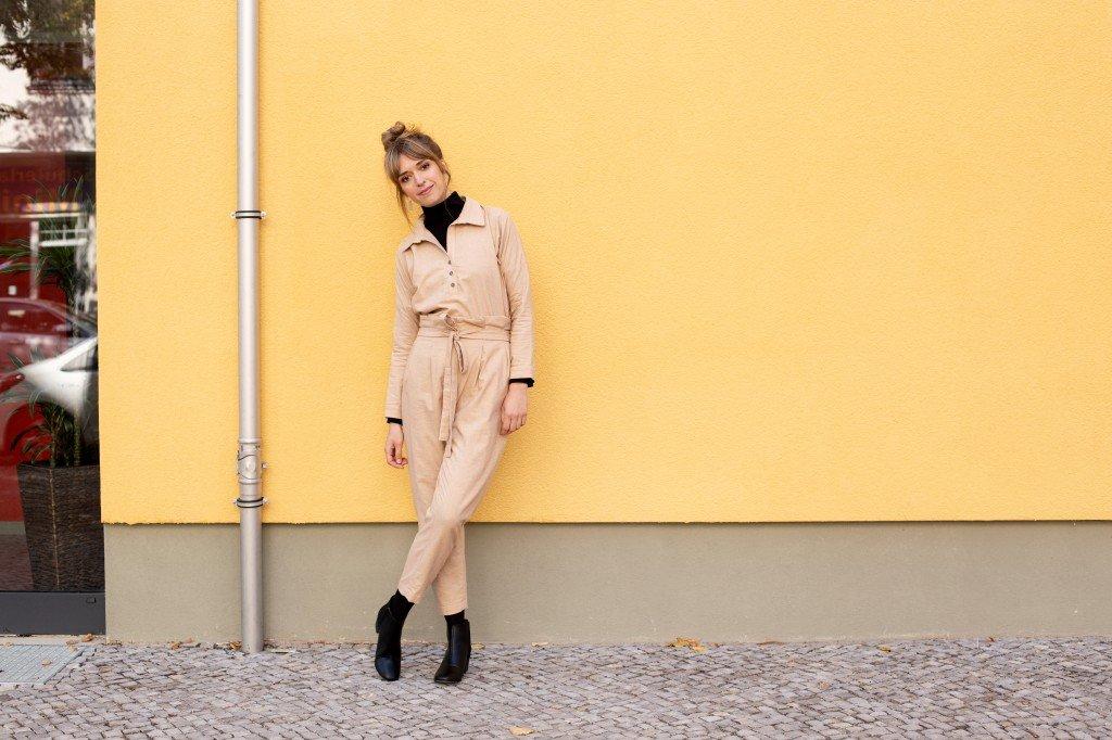 Auch Beige ist eine wichtige Farbe in Christinas Capsule Wardrobe für den Herbst