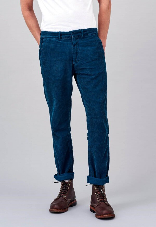 Kings of Indigo PANTS JARREL CORDUROY NAVY LOV11609 1