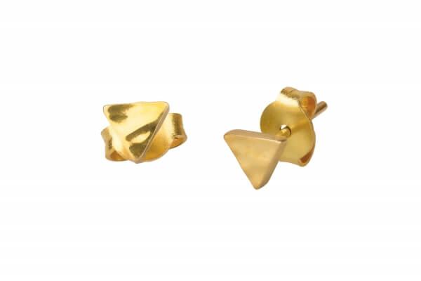 kaligarh-ohrstecker-micro-triangle-brass