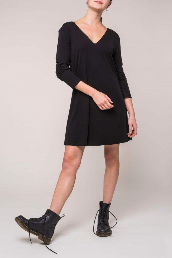 JAN 'N JUNE DRESS CANNES SCHWARZ LOV11568 1