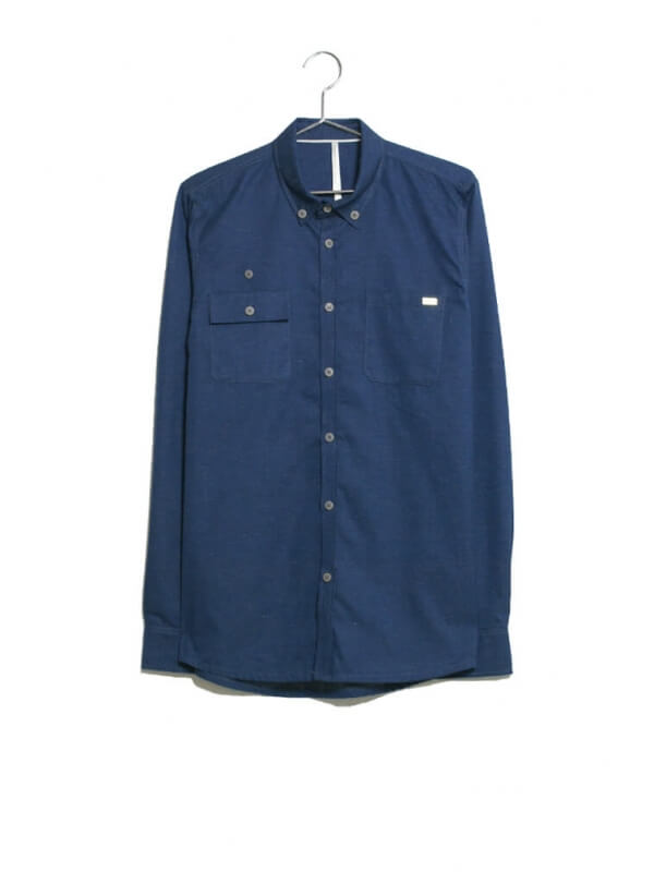 Shirt Blue Melange