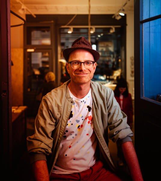 David Mühlfeld fotografiert von Felix Kayser