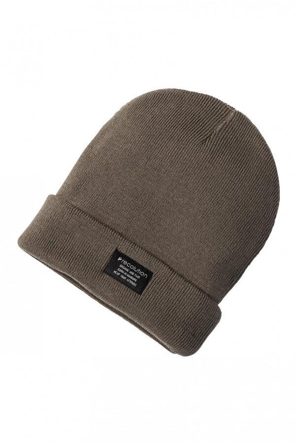 Mütze Knit Beanie Oliv Grün