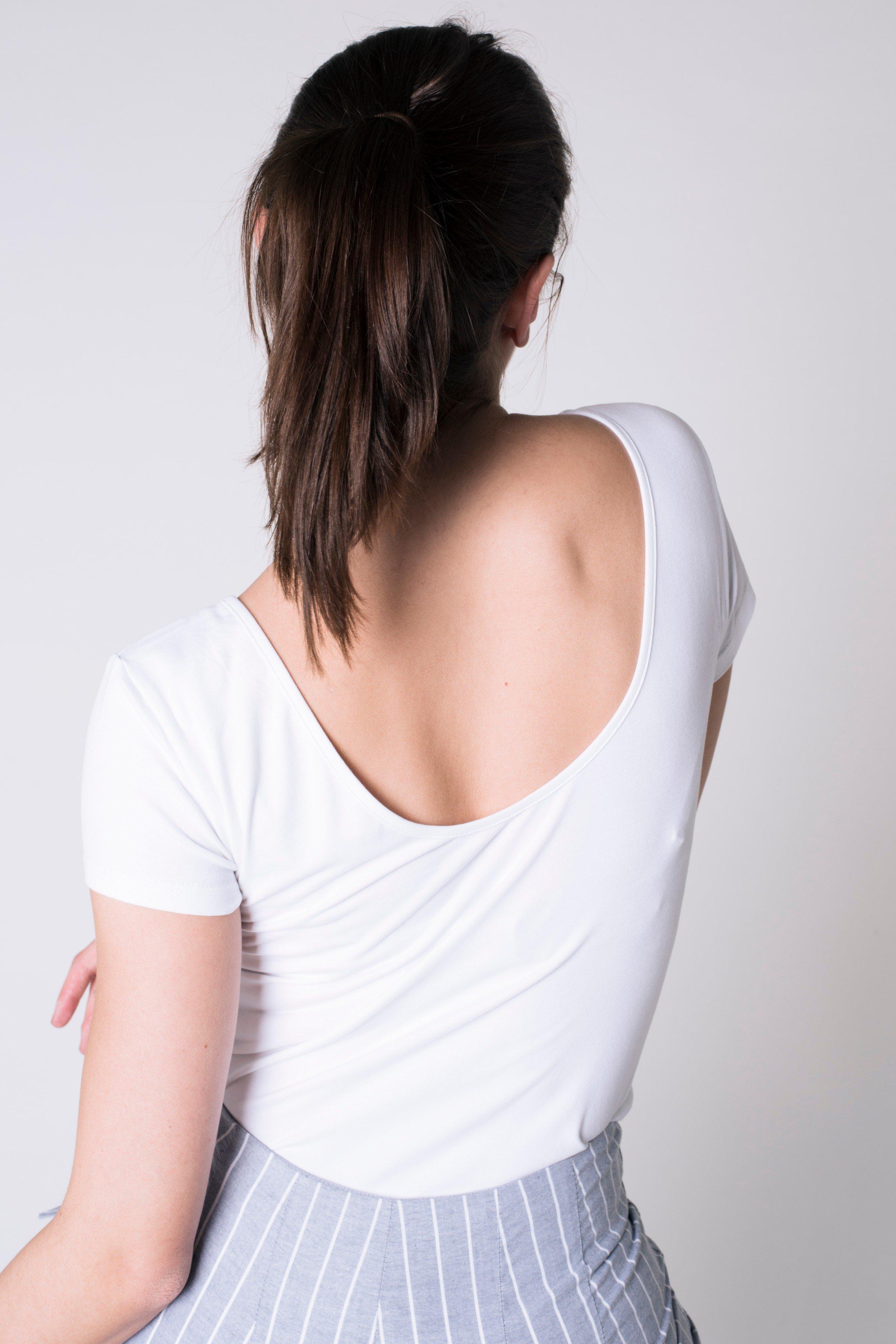 T-Shirt Ballerina Aloe Weiss from LOVECO
