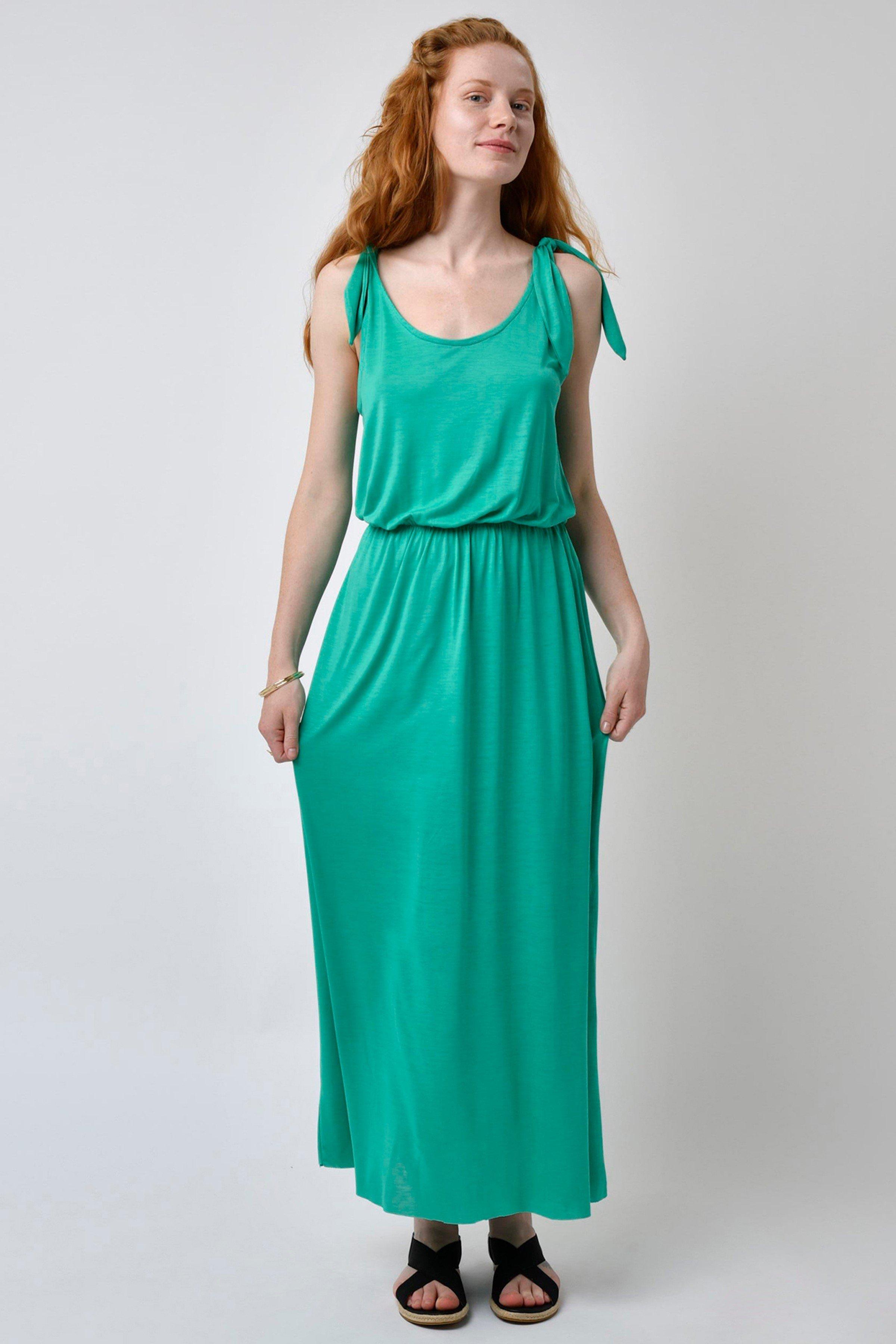 Kleid Ribwort Maxi (mehrere Farben)