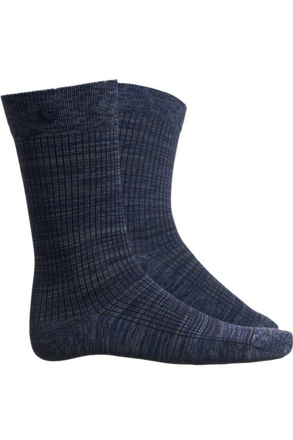 Qnoop Socken Twisted Rib Blau LOV14120 1