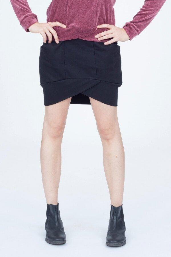 format-skirt-elot-black