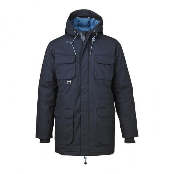 knowledgecottonapparel-heavyparkajacket-blue