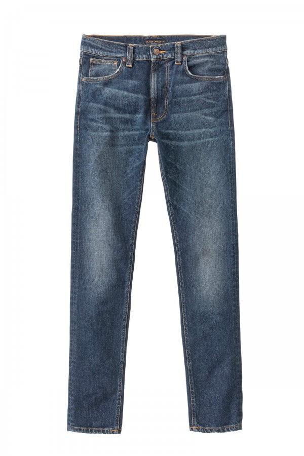 Nudie Jeans JEANS LEAN DEAN DARK BLUES LOV12646 1