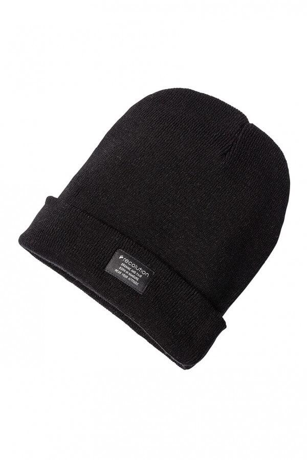 Mütze Knit Beanie Schwarz