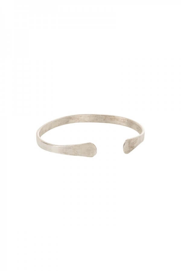 People Tree BANGLE NARROW CUFF SILVER LOV11581 1
