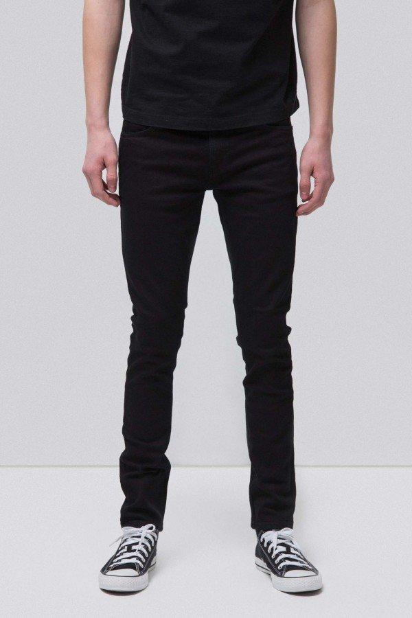Nudie Jeans JEANS SKINNY LIN BLACK BLACK LOV12734 3