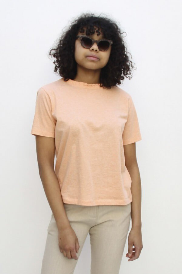 Studio JUX CROP TOP SOFT ORANGE LOV12255 1
