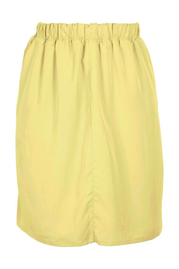 LOVJOI SKIRT COLIN LEMON YELLOW LOV12224 1