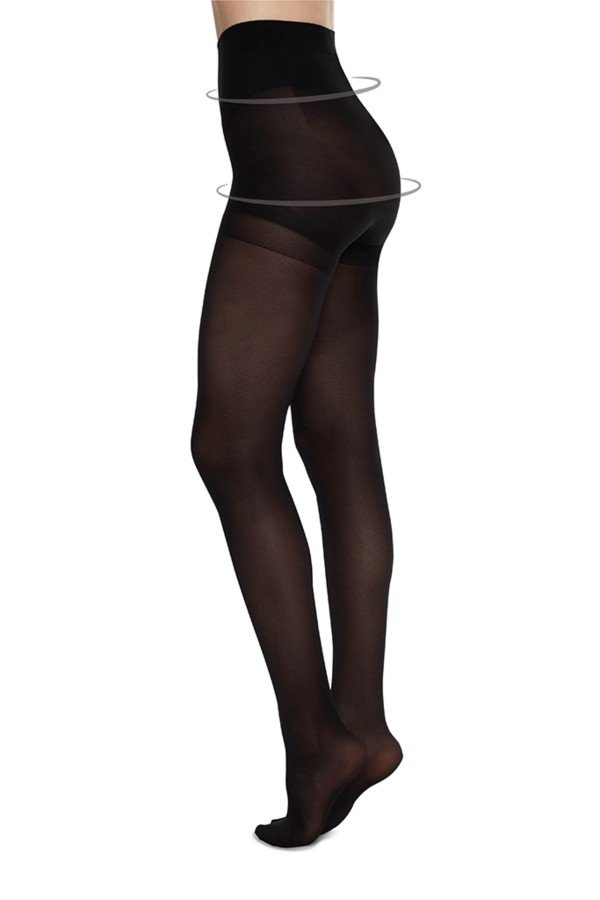 Swedish Stockings Strumpfhose Anna Control Schwarz LOV14104 1