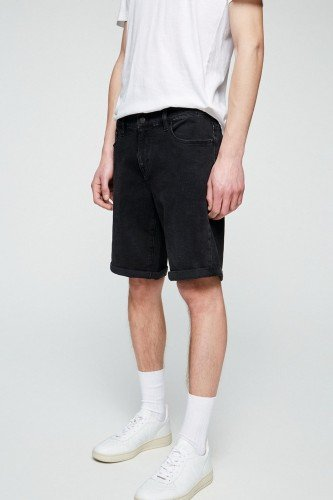 Shorts Naail Washed Down Black