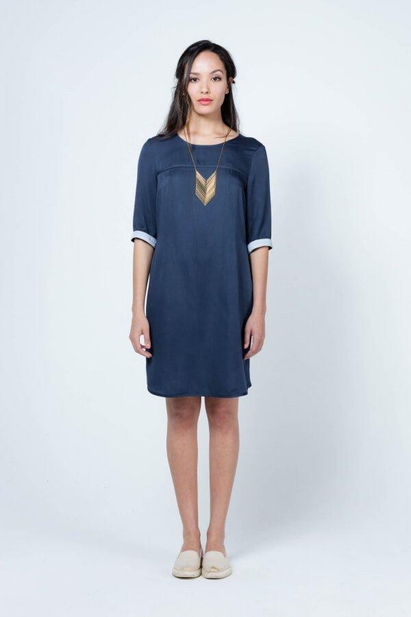 Dress Ganga Dark Blue