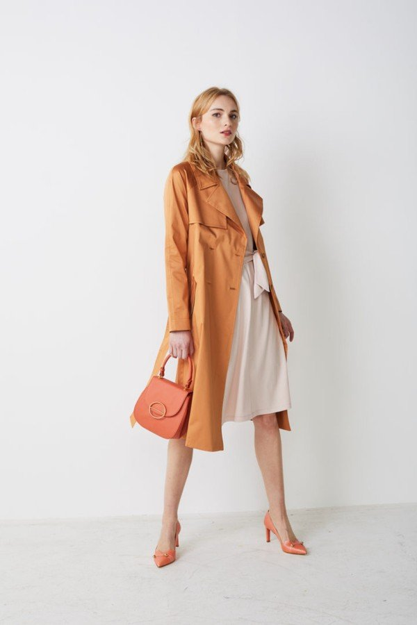 Lana TRENCHCOAT CECILE ORANGE LOV13284 7