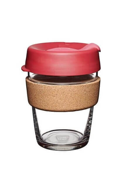 KeepCup TO GO BECHER KORK THERMAL ROT PINK LOV12767 2