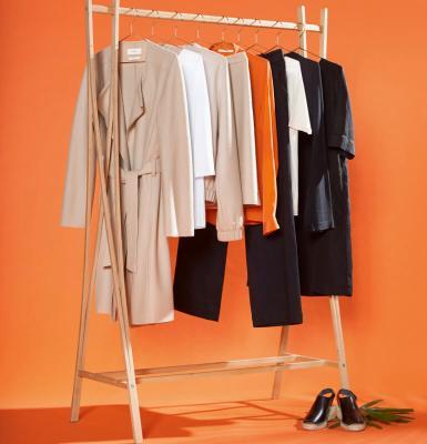 Kleiderstange mit Fairer Mode