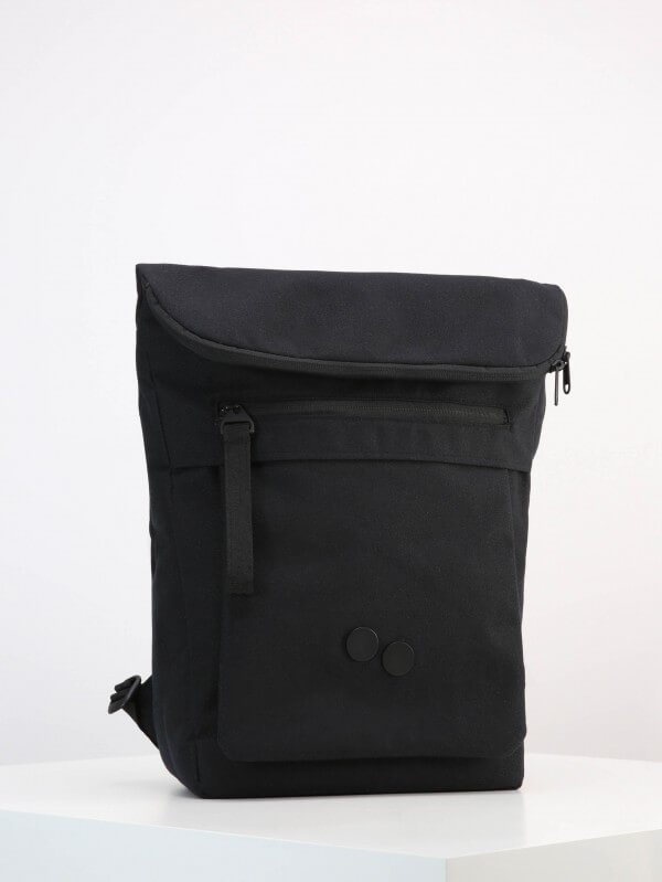 pinqponq BACKPACK ROLL TOP KLAK LICORICE BLACK LOV11514 1