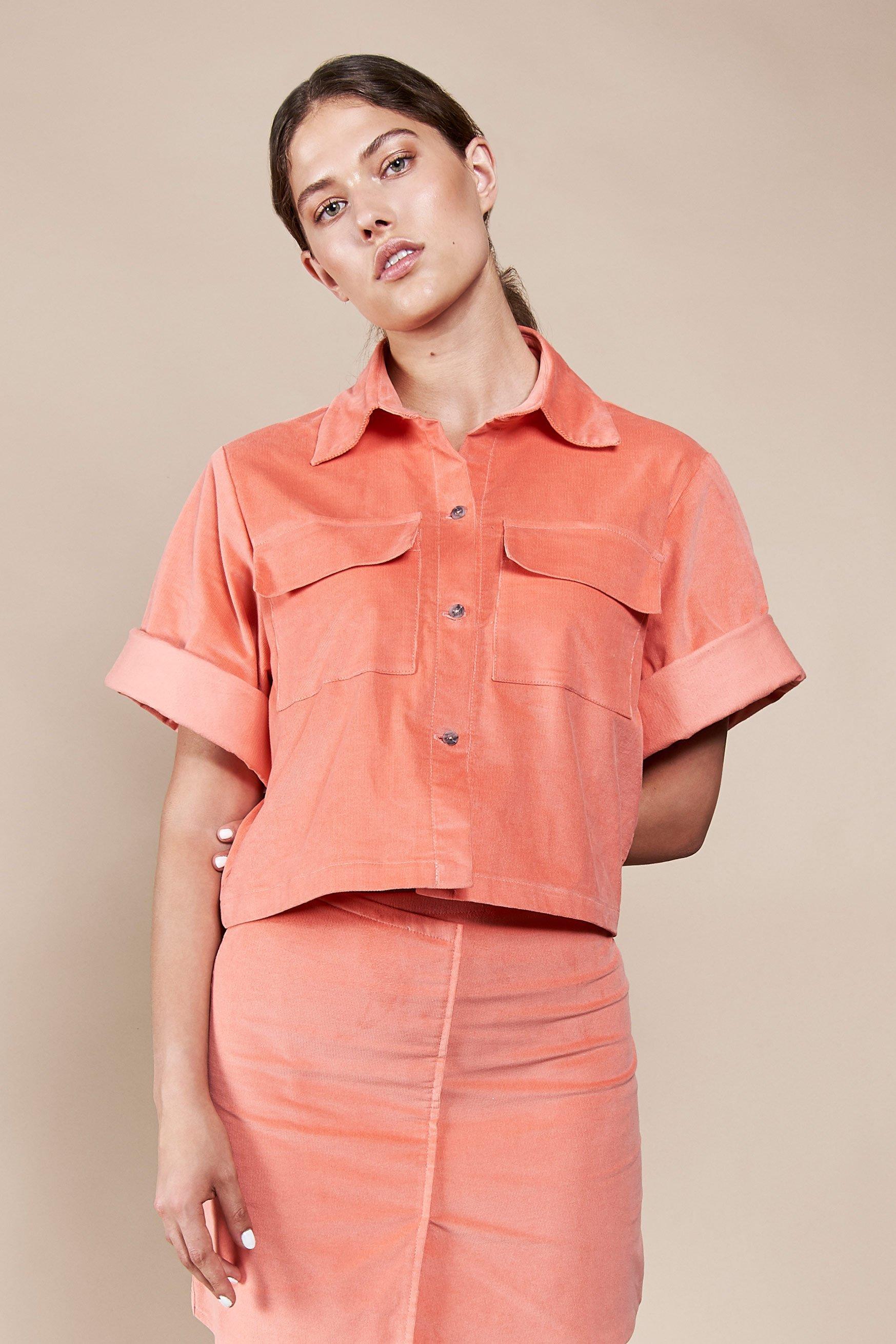 Bluse Yopal Orange