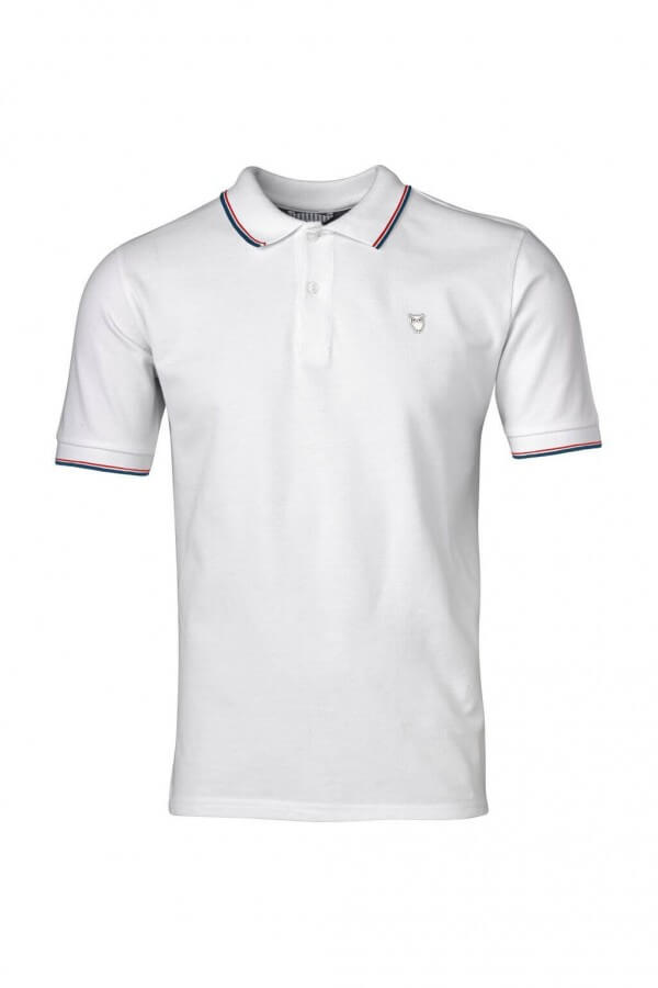 KnowledgeCotton Apparel SHIRT PIQUE POLO BRIGHT WEISS LOV12048 1