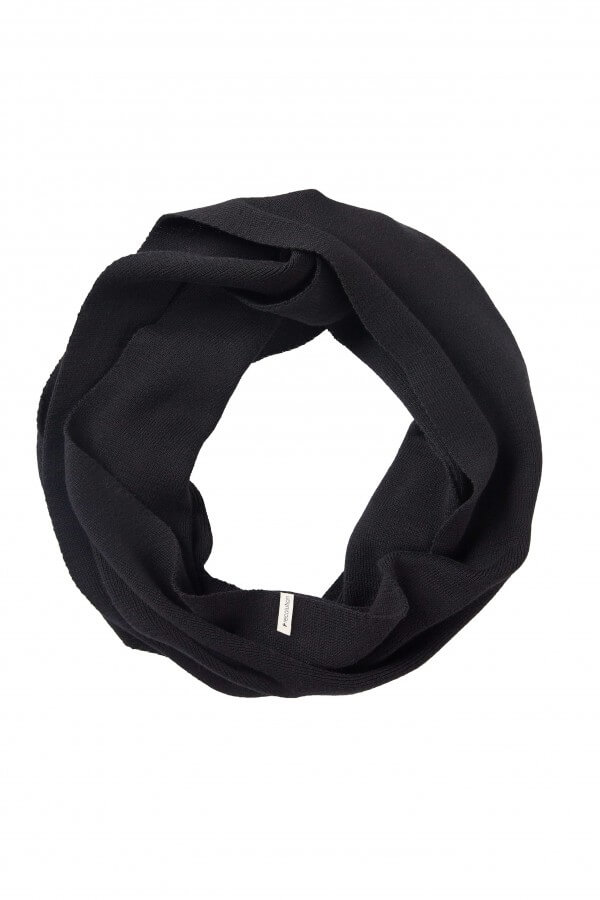 recolution LOOP SCARF KNIT BLACK LOV12623 4