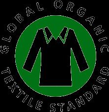 Grünes Logo des GOTS