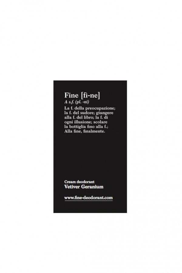 fine DEODORANT PROBE VETIVER GERANIUM 3 ML LOV13343 1