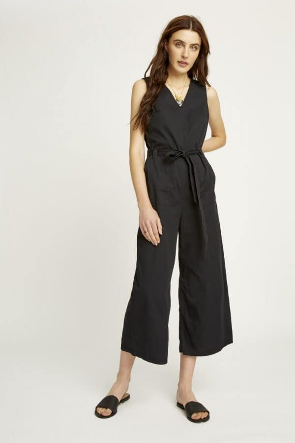People Tree JUMPSUIT ADALEE LINES SCHWARZ LOV11752 1