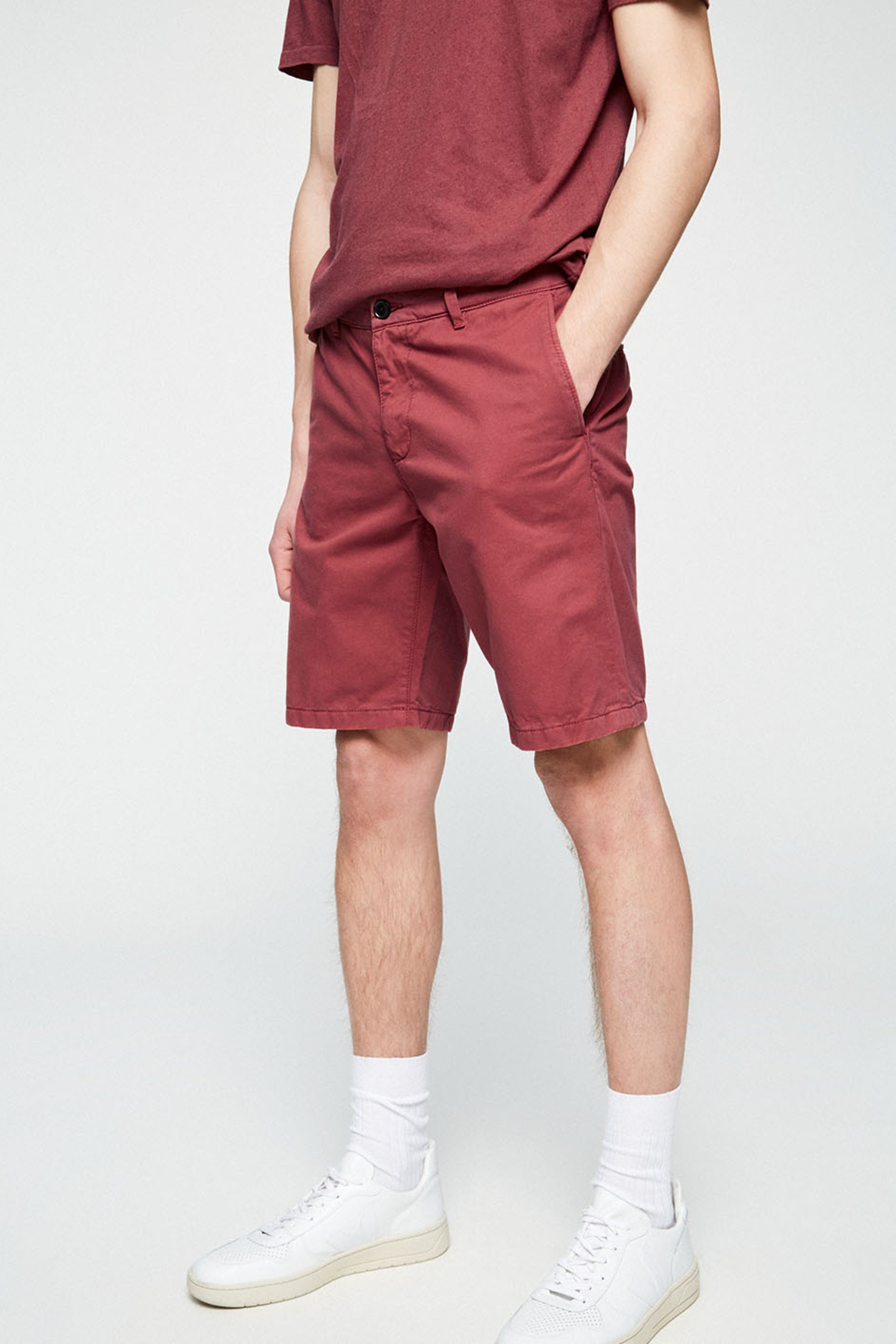 Shorts Brucaa Dunkelrot from LOVECO