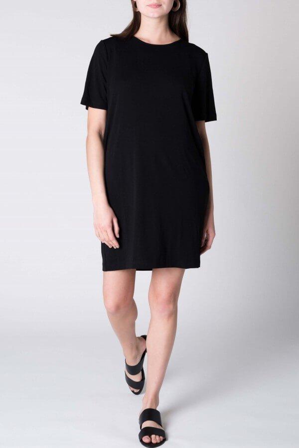 JAN 'N JUNE T-SHIRT DRESS IRIS SCHWARZ LOV11989 25