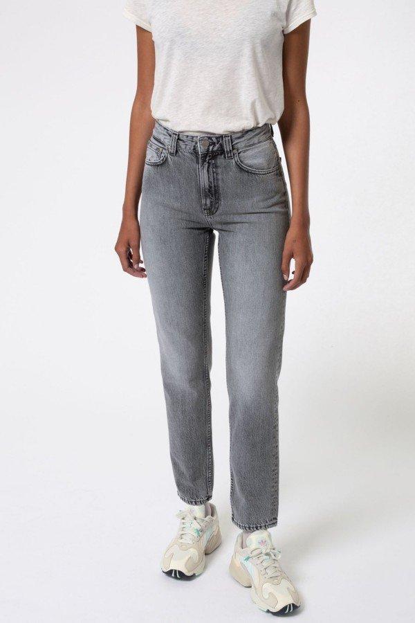 Nudie Jeans Jeans Breezy Britt Lazy Grey LOV14085 1