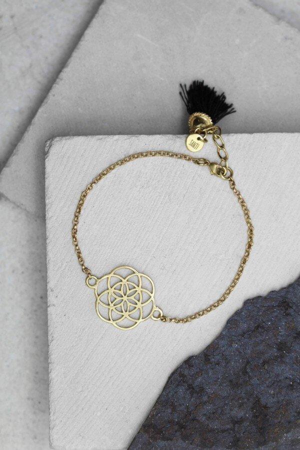 Bracelet Mandala Gold