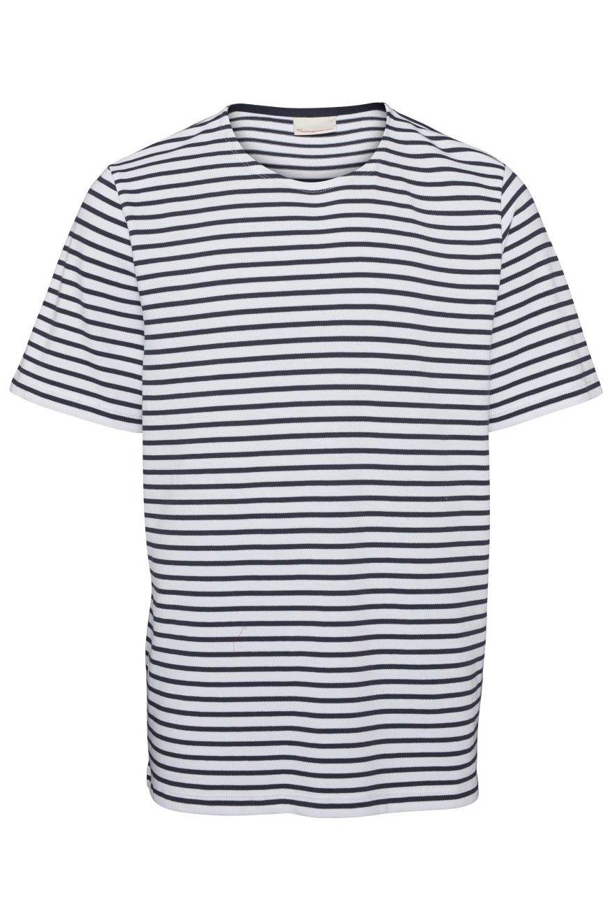 T-Shirt Striped Heavy Single Blau from LOVECO