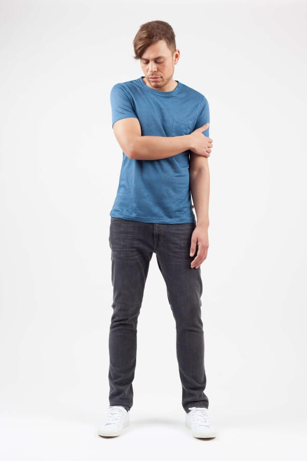 KnowledgeCottonApparel-Linen Tee Shirt