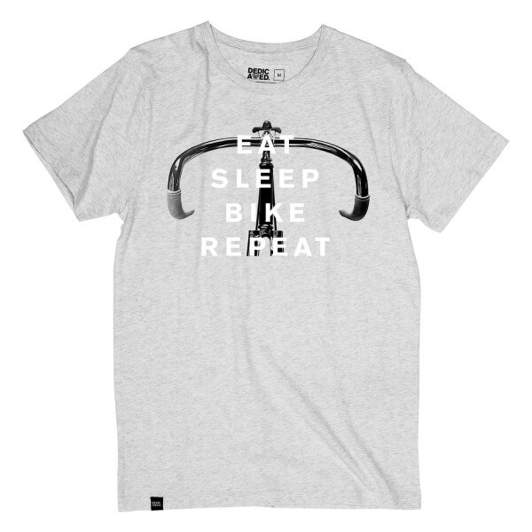 Bild-dedicatedbrand-TshirtBikeRepeat-GreyMelange-001