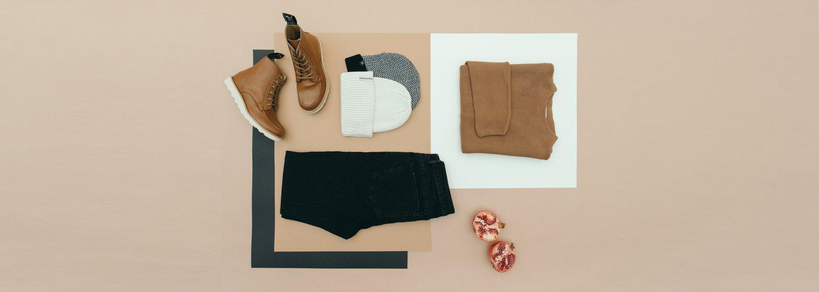 Ökologische Mode und Schuhe