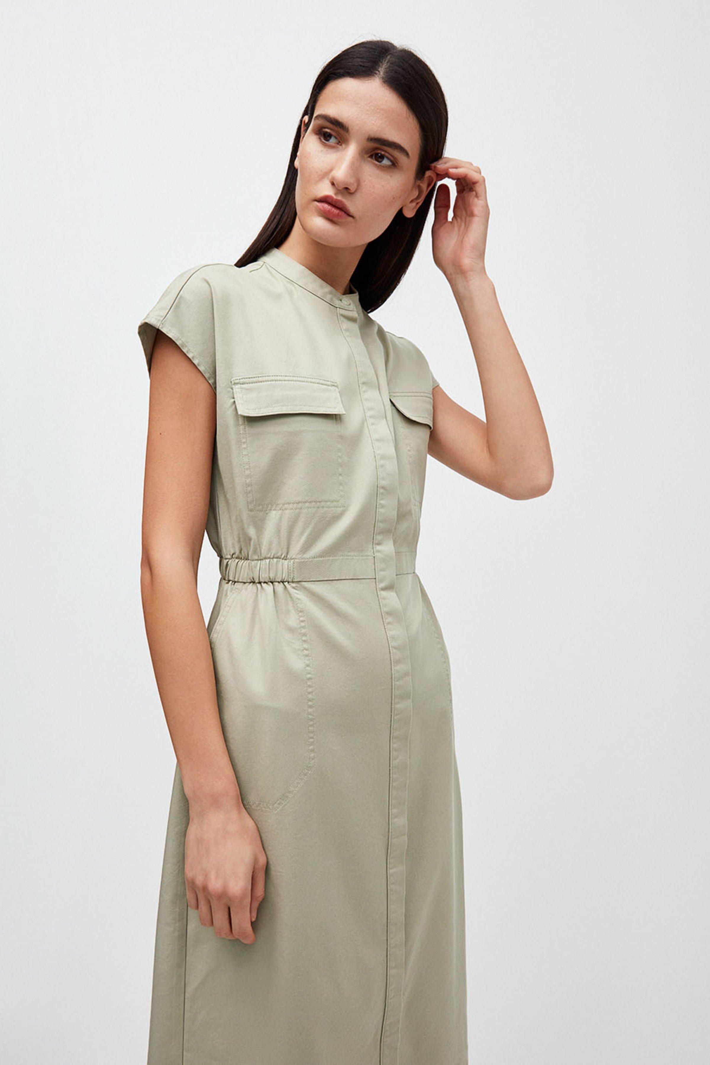 Kleid Kjaalvor Grün