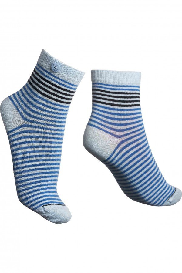 Qnoop SOCKEN CHAMOIS CYCLE BLAU LOV13751 1