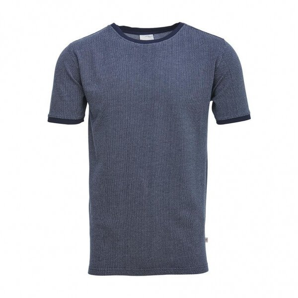 T-SHIRT DOT JACQUARD KNIT