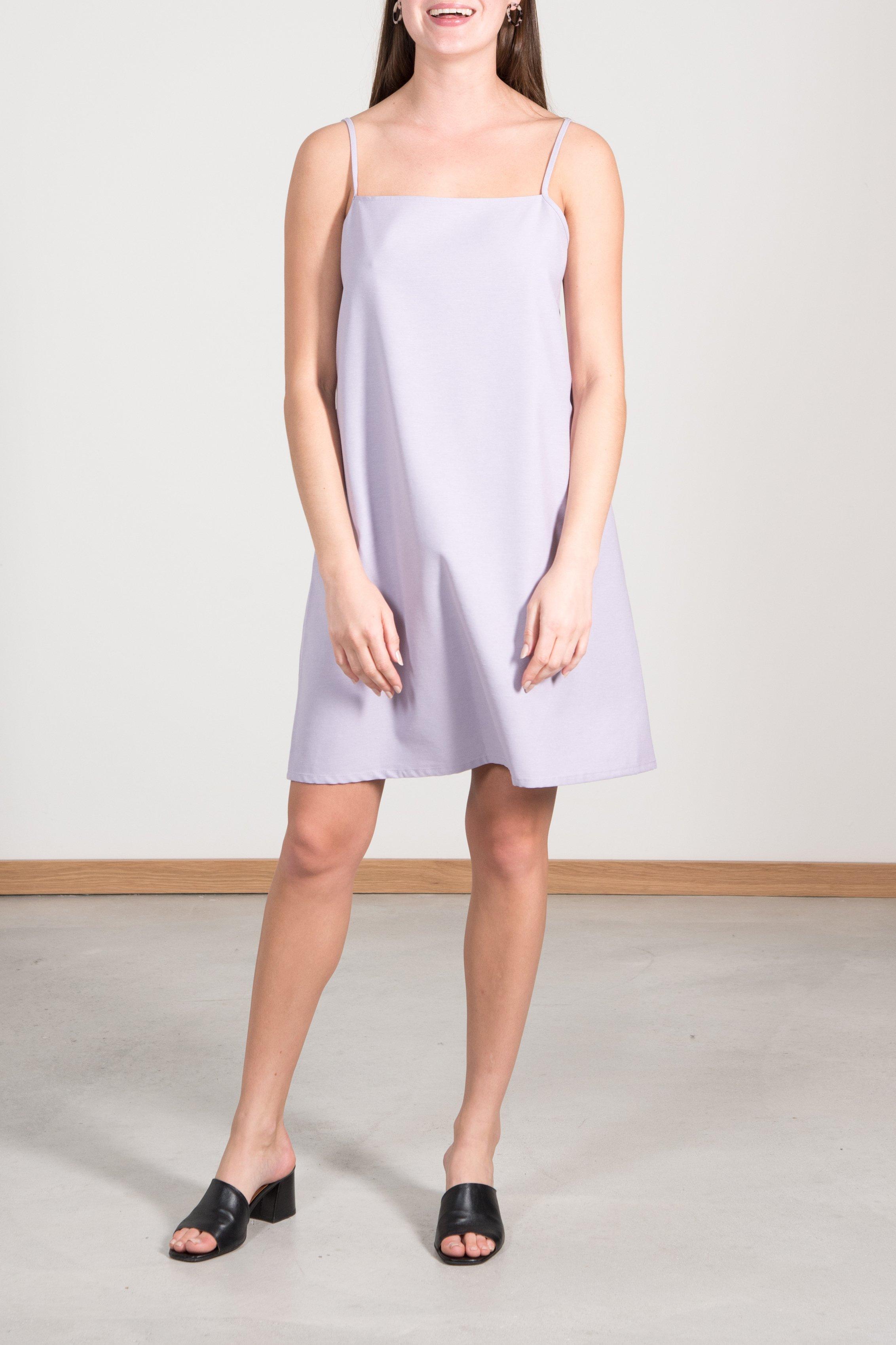 Kleid High Summer Slip Capri Lila