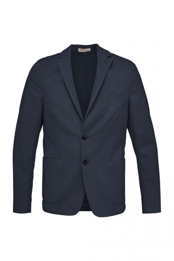 KnowledgeCotton Apparel BLAZER STRUCTURED DUNKELBLAU LOV12061 1