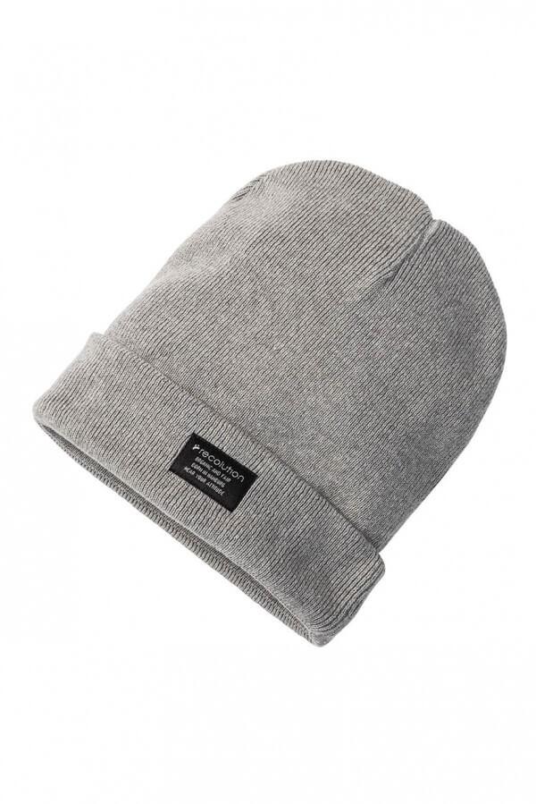 Mütze Knit Beanie Grau