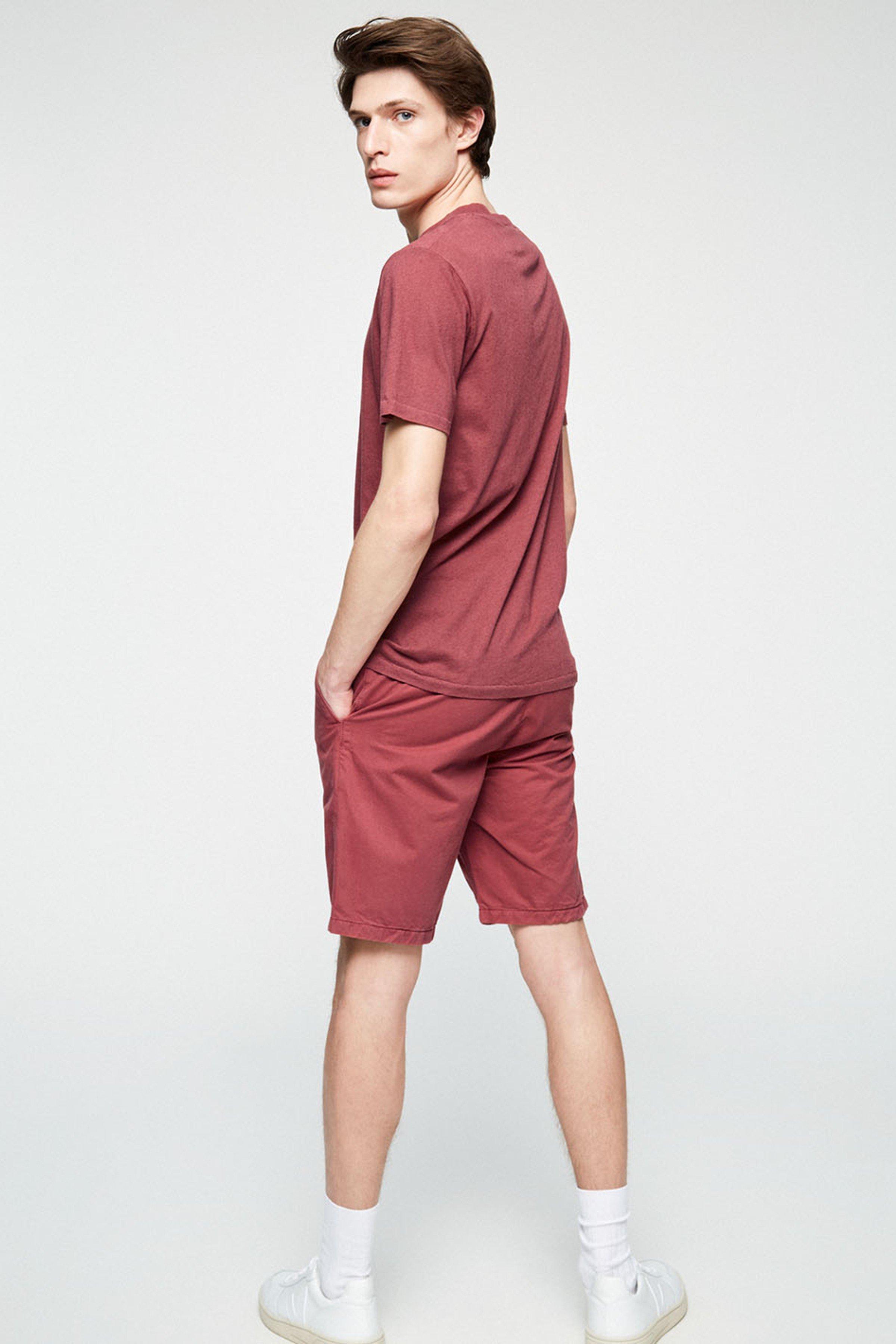 Shorts Brucaa Dunkelrot from LOVECO